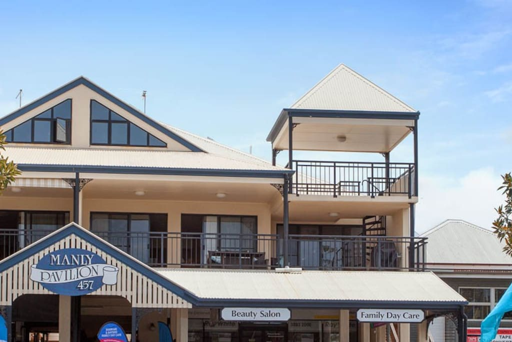 Located right in the heart of Manly Village.