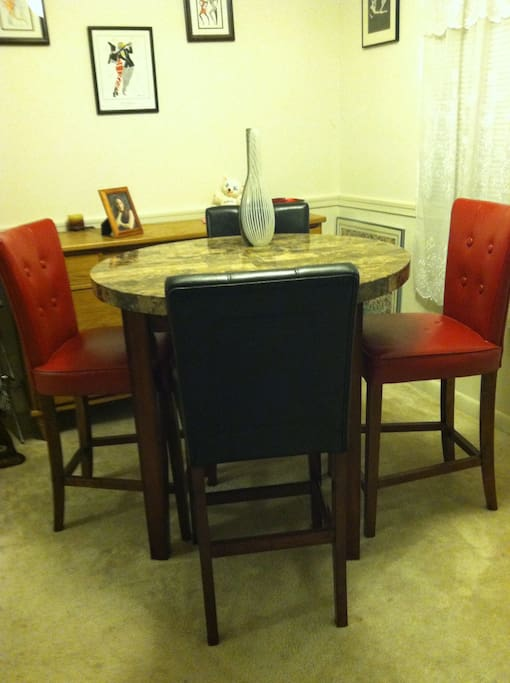 Separate Fine  Dining room