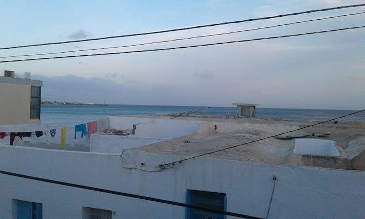 Maison à kelibia plage Mamounia