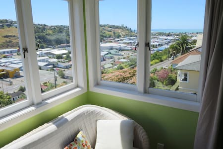 Sunny City Centre With Seaview - Nelson - Talo
