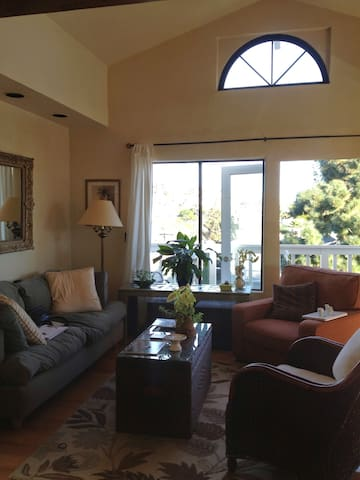 Ocean view, Artsy Beach Flat, 2bd  - Dana Point - Appartement