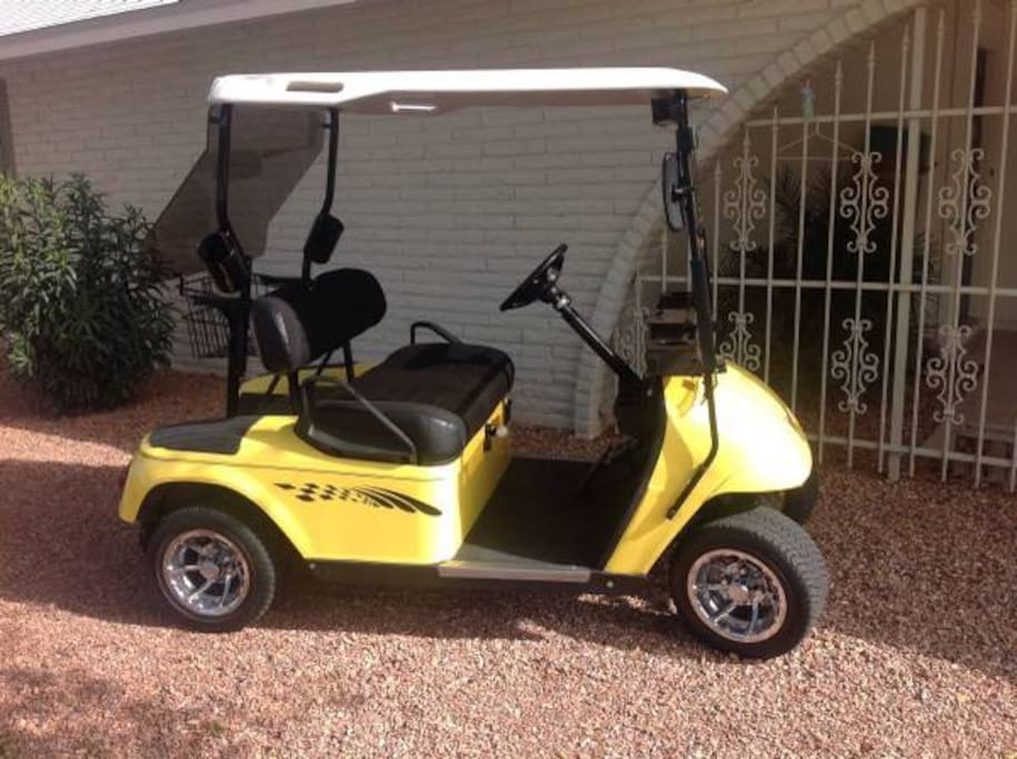 Golf cart for use