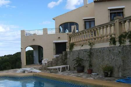 Spanish Villa on a mountain slope - El Rafalet