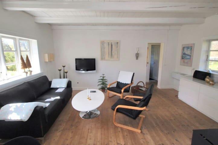 Charmerende stråtækt idyl - Asnæs - House