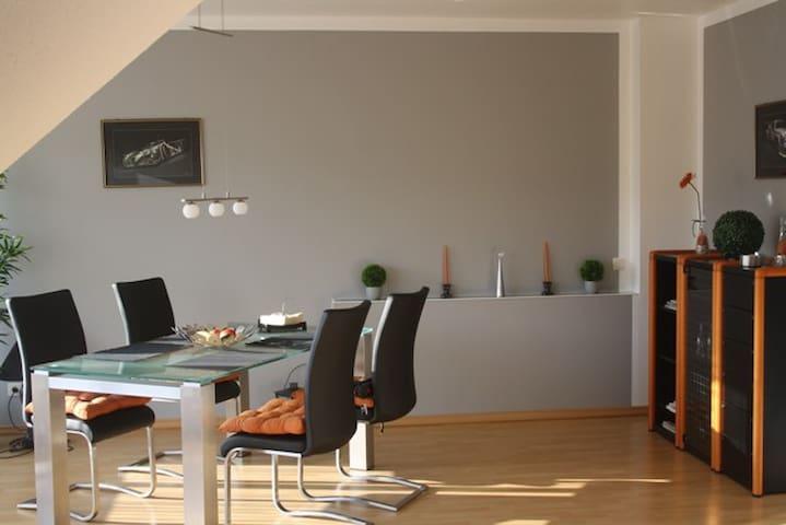 65qm FeWo mit Balkon und Rheinblick - Bad Hönningen - Apartment