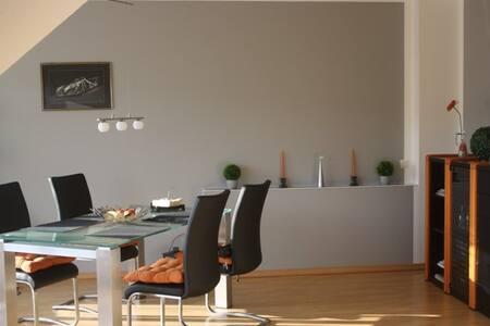 65qm FeWo mit Balkon und Rheinblick - Bad Hönningen - Apartamento