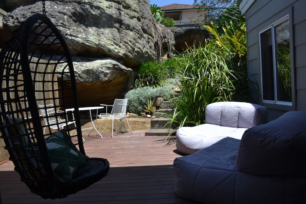 Outdoor chill zone
