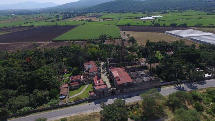 Habitaciones en ex Hacienda - Tetecala de Las Reformas - Hus