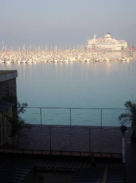 Rental Studio sea view