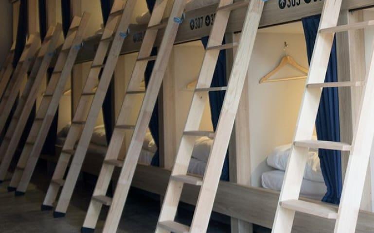 Hiromas Hostel in Akihabara Male Dormitory Room