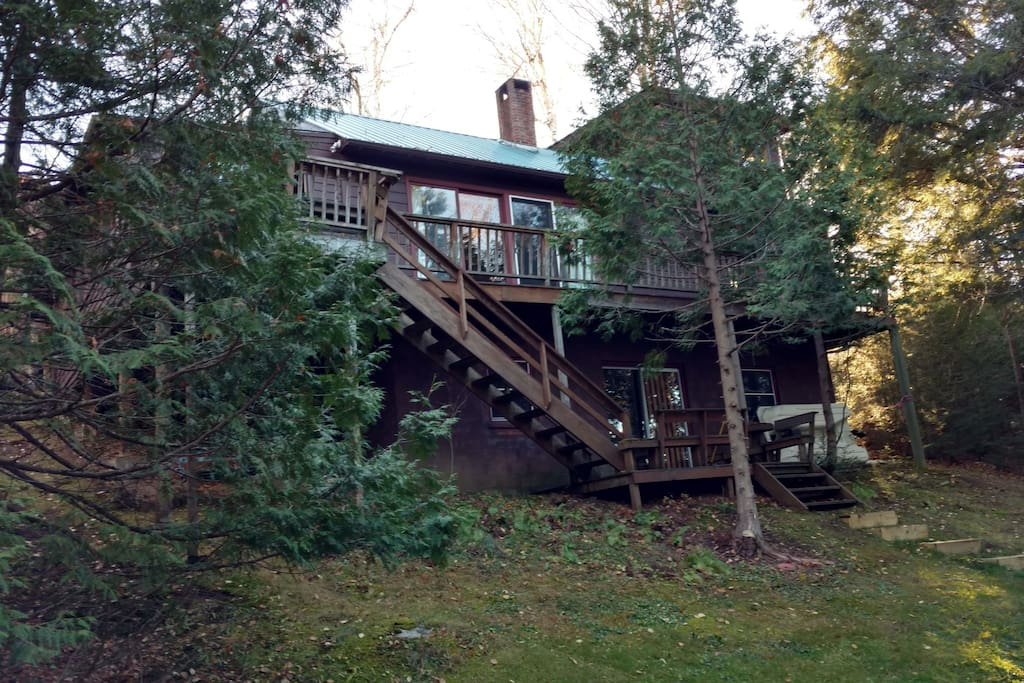 View of Camp from Front
