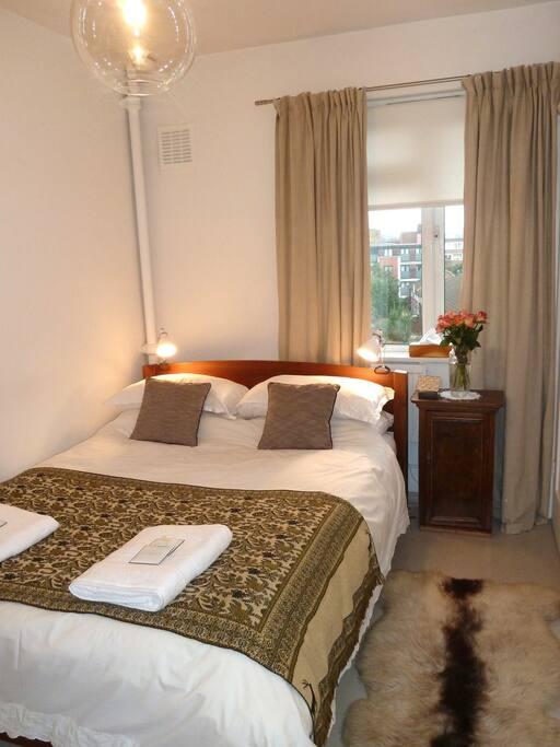 Bedroom from the doorway