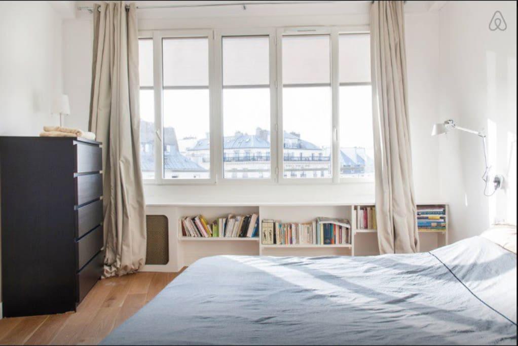 Nice room in central paris apartments for rent in paris for Chambre de bonne paris rent
