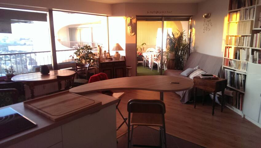 Panorama unique pour F2 original ! - Rennes - Apartment