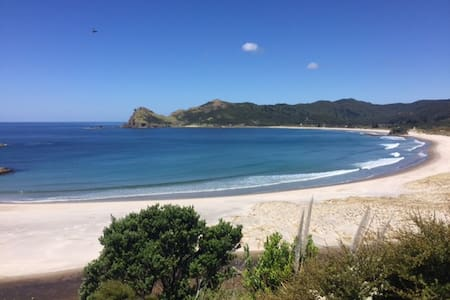 Beachfront Bach on Medlands Beach - Great Barrier Island