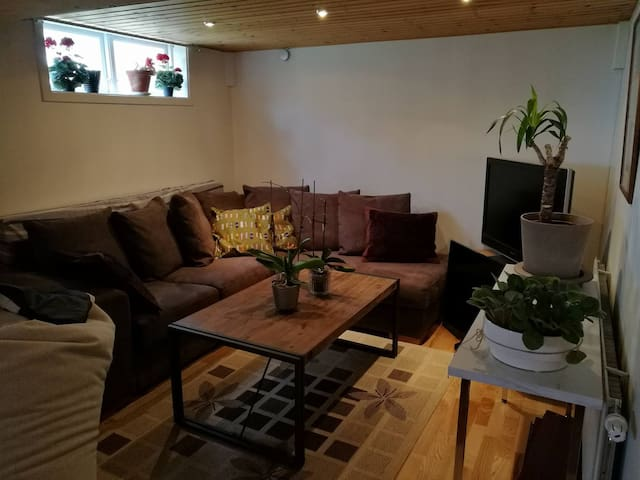 Cozy room in the basement for up to 4 person - Kalmar - House