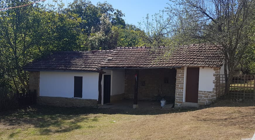 Simple barn conversion in rural setting
