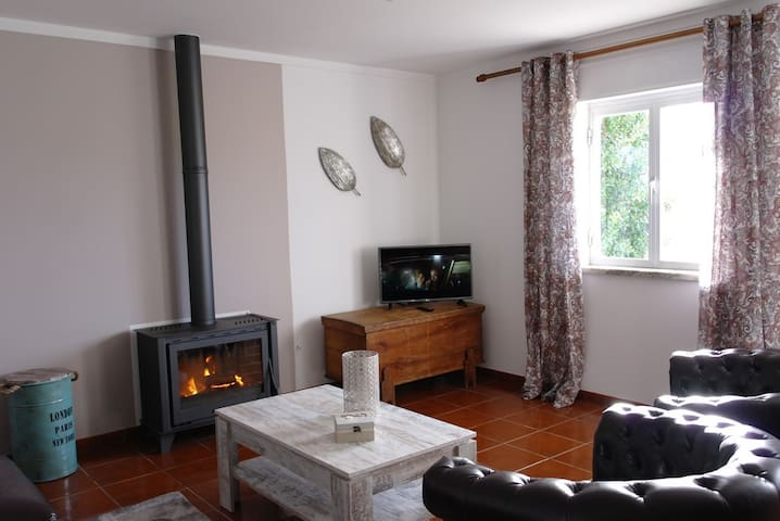Holidayhome countryside, natural parc, beach 2km. - Rogil - Ev