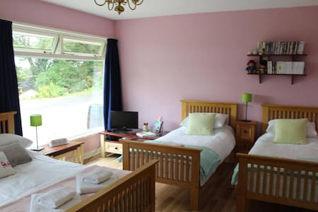 Family Self Catering room with microwave & fridge