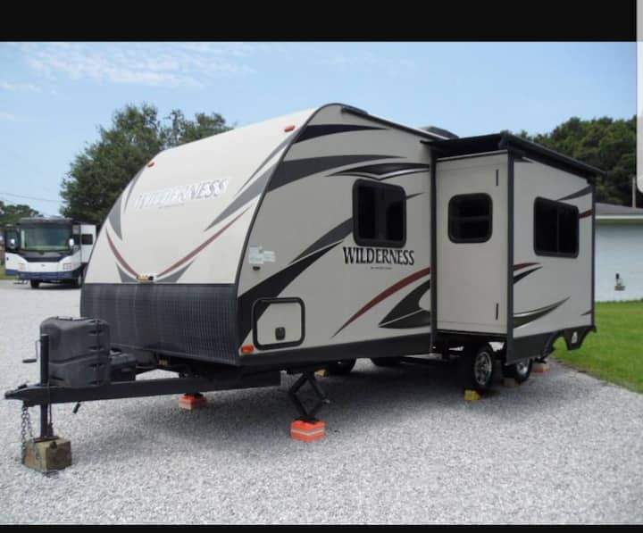 The Seasprite fully stocked camper for 2
