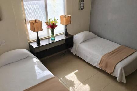 Villa Corazon Deluxe/Two Single Beds Upper Floor - Puerto Aventuras
