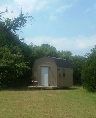 """Hill Country Cabin """"Camping"""""""