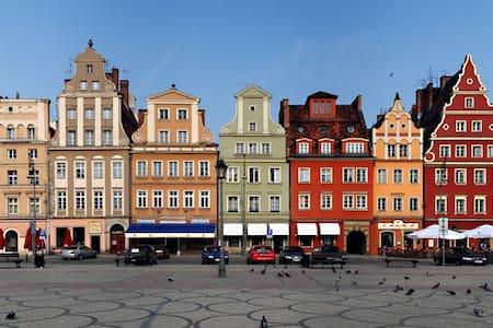 Cozy STUDIO on RUSKA Street - 2MIN from OLD TOWN - Wrocław