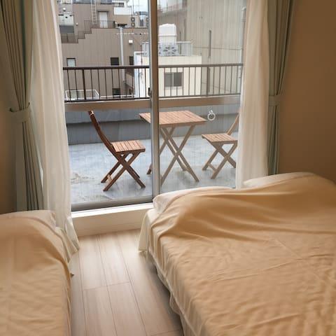 Open Now !!  LUXURY PENTHOUSE ! Great Location !! - Taitō-ku - Wohnung