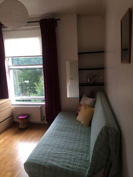 3rd double bedroom with a comfortable sofa bed
