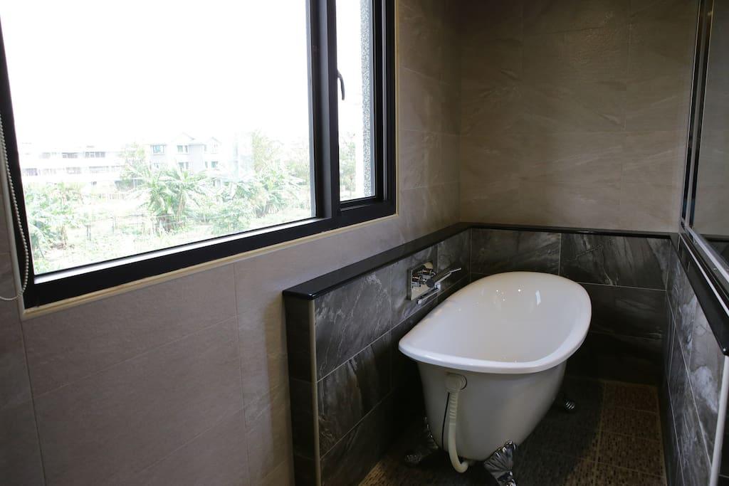 歐式VIP雙人大套房 浴廁