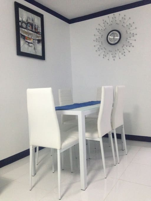 6 seater dining table. Call us at 09178506535