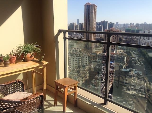 Free breakfast, city view - Kunming - Apartment
