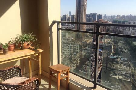 Free breakfast, city view - Kunming - อพาร์ทเมนท์