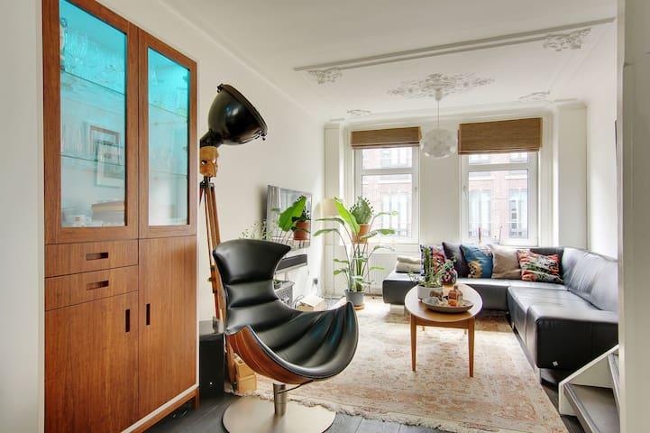 Luxurious, authentic 3-floors mansion, City Centre