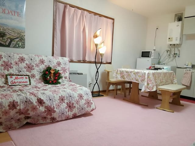 Near hakodate sightseeing convinient cozy room