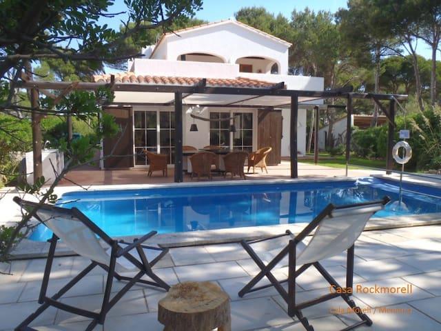 Casa Rockmorell, Cala Morell, Menorca, 6 Pers. - Cala Morell - Haus