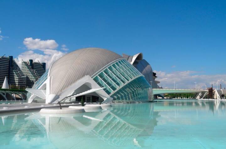 100M2 Ciudad de Artes y Ciencias