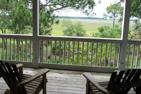 Fripp Island, Beautiful Marsh House - Fripp Island - Haus