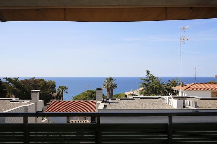 AT210 ROMANÍ: Maison avec piscine privée et air conditionné à 600 m de la plage