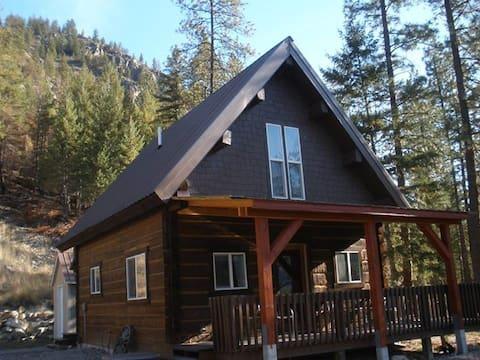 Уютная 2 BR бревенчатая каюта с видом