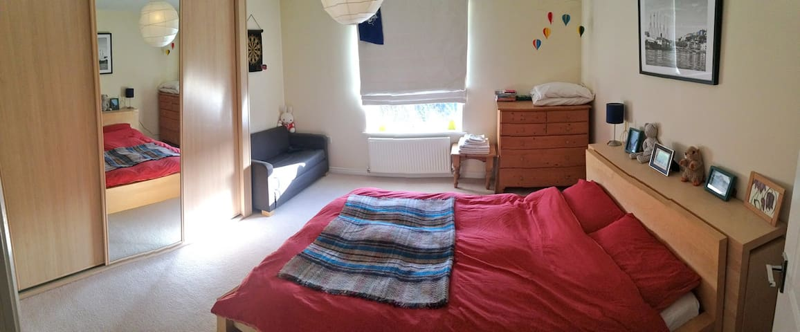 Double Room in Lovely Village by Bristol & Airport - Long Ashton