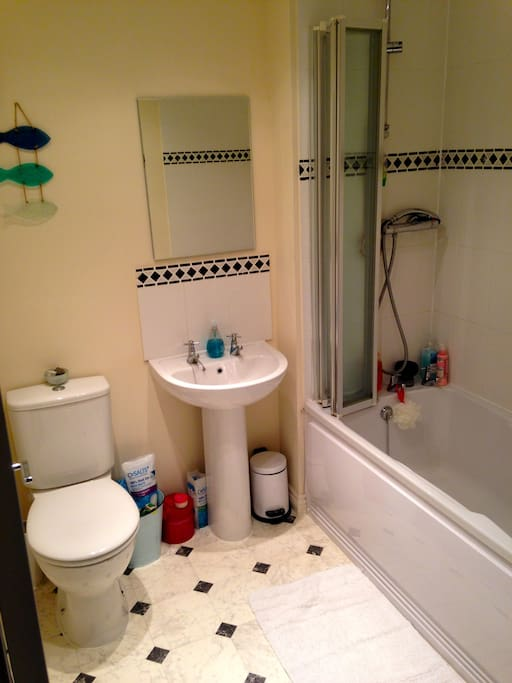 Your private bathroom.