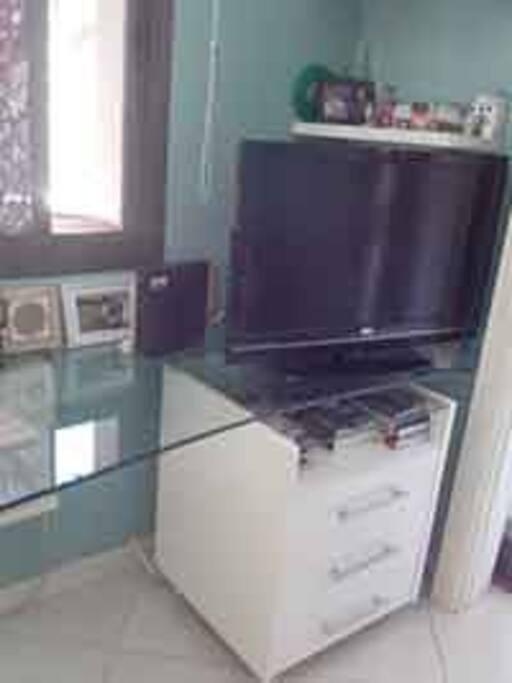 TV e ar condicionado