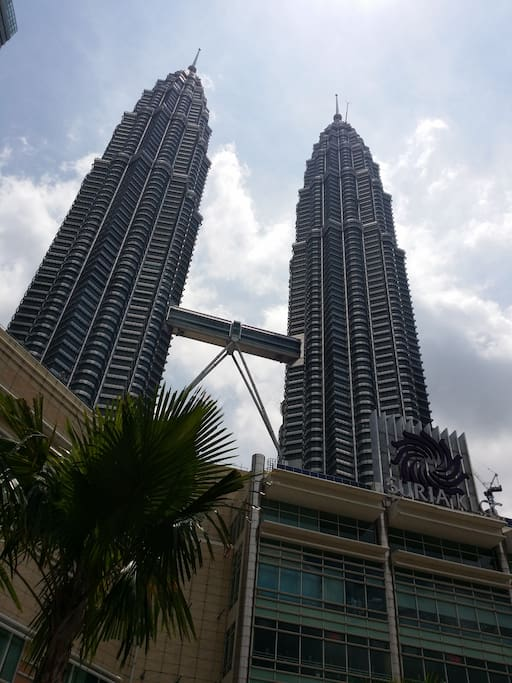 KLCC, the famous twin tours in KL