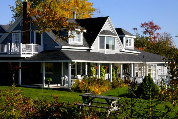 Historic Scottish Estate On Baddeck Bay