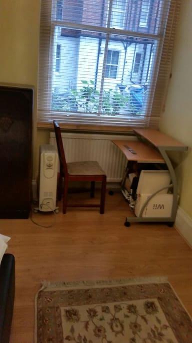Bedroom 1: Desk