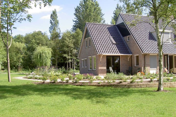 Rurally located holiday home in the beautiful natural surroundings of the Drenthe forest