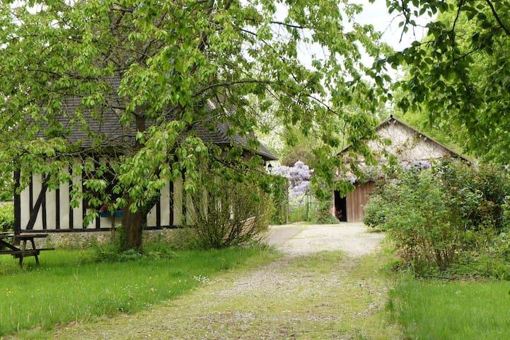 Chambre dans maison normande - Berthouville - บ้าน