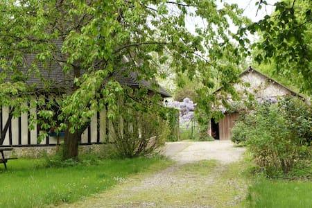 Chambre dans maison normande - Berthouville - Haus