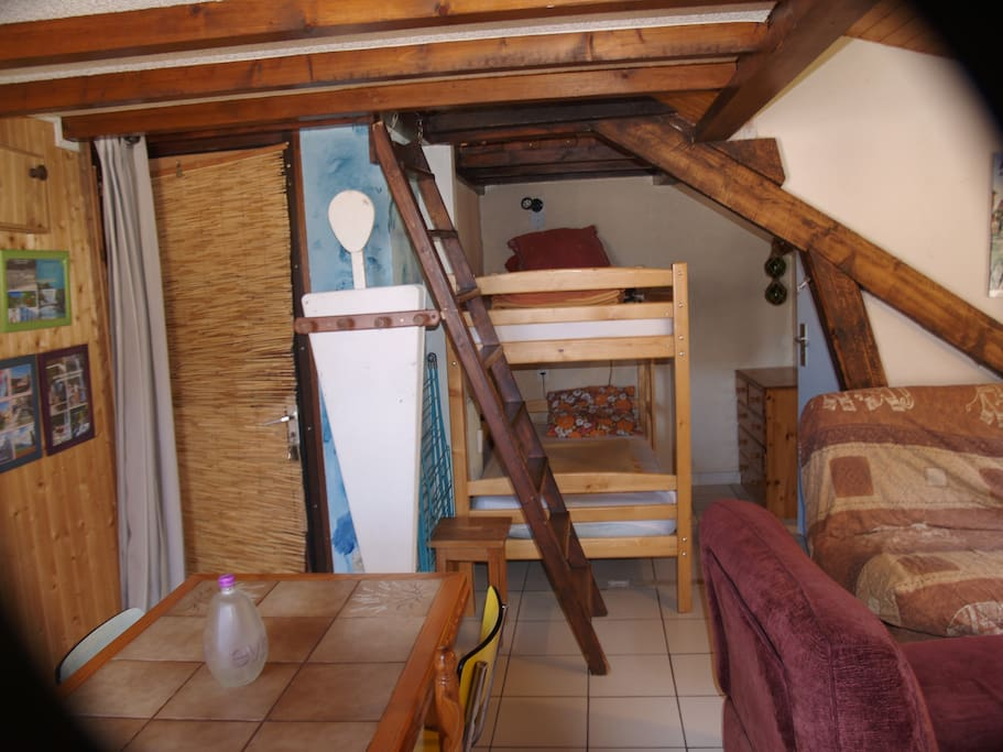 lovely studio on the shore of the lake of annecy flats for rent in doussard rh ne alpes france. Black Bedroom Furniture Sets. Home Design Ideas